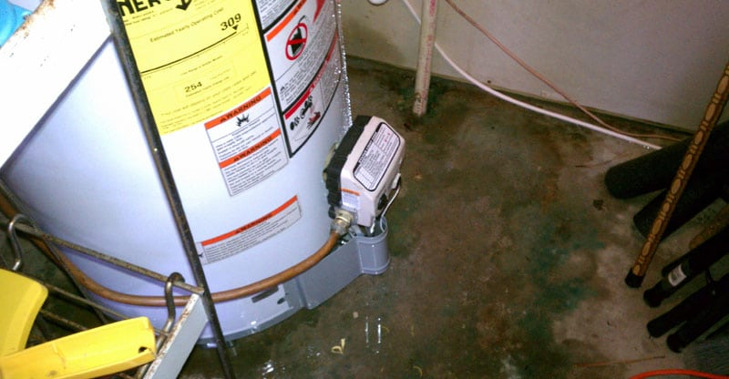 Leaks from Water Heater