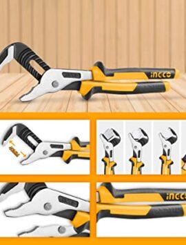 """INGCO 4 Pcs Pliers Set 8"""" Combination Pliers 7"""